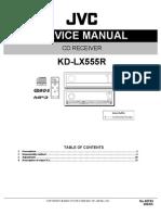 Diagrama de Autoesteroa JVC KD-LX555R