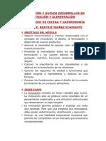 INNOVACIÓN EN ALIMENTACIÓN 2CG2