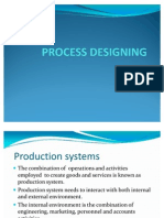 Process Designing