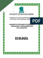 Cuaderno de actividades de Ecología