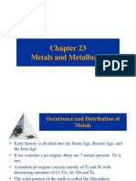 Chapter 23-Metals and Metallurgy