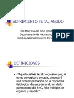 Sufrimiento Fetal Agudo (SFA)