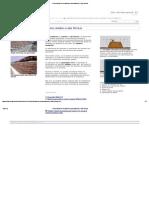 Construcción de terraplenes para caminos y vías férreas