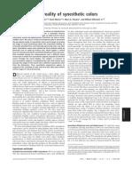 Thomas J. Palmeri et al- The perceptual reality of synesthetic colors