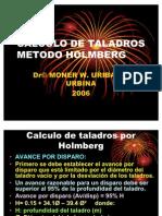 CALCULO METODO HOLMBERG