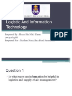 Logistic and Information Technology