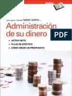 ADMINISTRACIÓN DE SU DINERO