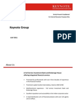 Keynote Profile
