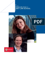 2011 Sydney Law School Postgraduate Guide