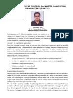 Abhinav RWH Article