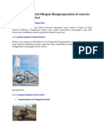 Penyediaan Konktrit Ditapak Bina(Preparation of Concrete on Construction Sites)