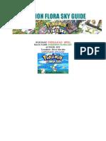 Pokemon Flora Sky Guide (English)