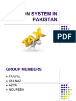 Taxation System in Pakistan