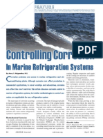 Controlling Corrosion in Marine Refrigeration Systems