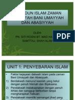 Tamadun Islam Zaman Khulafah Bani Umayyah Dan Abasiyyah
