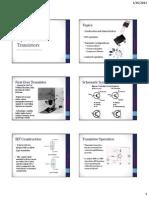 Lecture 2.1 Bipolar Junction Transistor