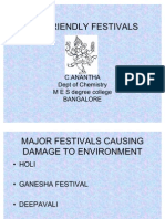 Eco Friendly Festivals