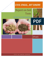 Project on Soil
