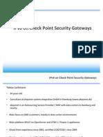 2011-09-06 CPUGCON2011 IPv6 on Check Point Security Gateways