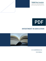 Investment in the Education Sector