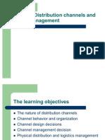 Chapter 8 Distribution Channels and Logistics Management