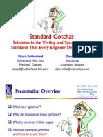 2006-SNUG-Boston Standard Gotchas Presentation