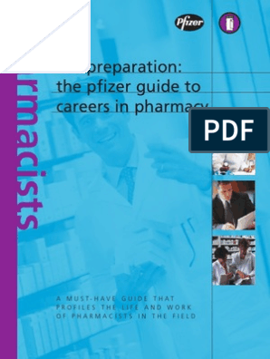 The Pfizer Guide to Careers in Pharmacy[1] | Pharmacy
