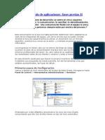 Desarrollo rápido de aplicaciones II