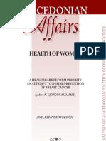 HEALTH OF WOMEN