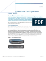 Cisco Digital Media Player 4400