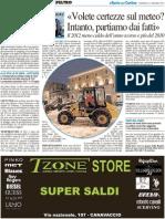 Il Barometro Del Serpieri - Il Resto del Carlino del 15 gennaio 2012