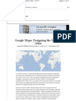 Google Maps - Designing the Modern Atlas