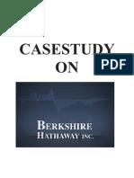 Berkshare Hathway Case Study