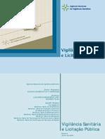 Vigilância Sanitária e Licitação Pública -Cartilha
