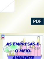 Administração Ambiental - EmpresaXAmbiente