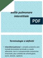 Bolile pulmonare interstitiale