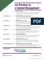 Enterprise Content Management 5bApril 20105d