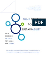 Nicolas Buttin_Think Design to Shape Sustainability_From Designing Products to Thinking New Systems_Design Management Thesis 2010