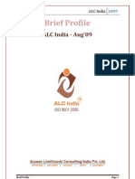 Brief Profile of ALC India