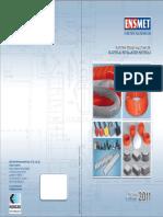 ENSMET 2011 Katalog