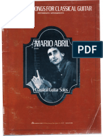 Abril, Mario - Popular Songs for Classical Guitar