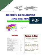 BOLETIN DE MISIONES 16-01-2012