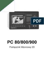 PC 80-800-900  Podręcznik Wzorców 2D