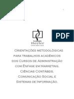 Metodologia e Organização de Pesquisa