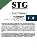 STG - January Newsletter