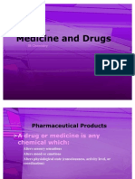 Option B - Medicine and Drugs