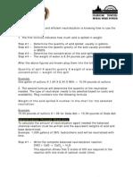 Neutralization Formula Quick Charts