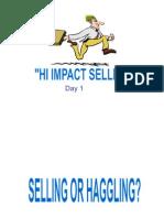 l Selling Skills