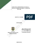 Proyecto_plan nacional para la prevención de las neumociosis del carbón y otras