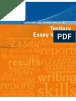Tertiary Essay Writing